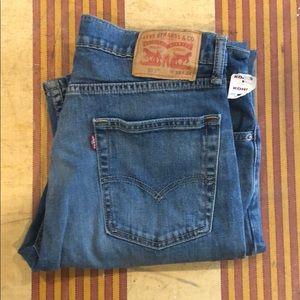 NWT Levi's Strauss & Co. Jeans 513 W33 L 34